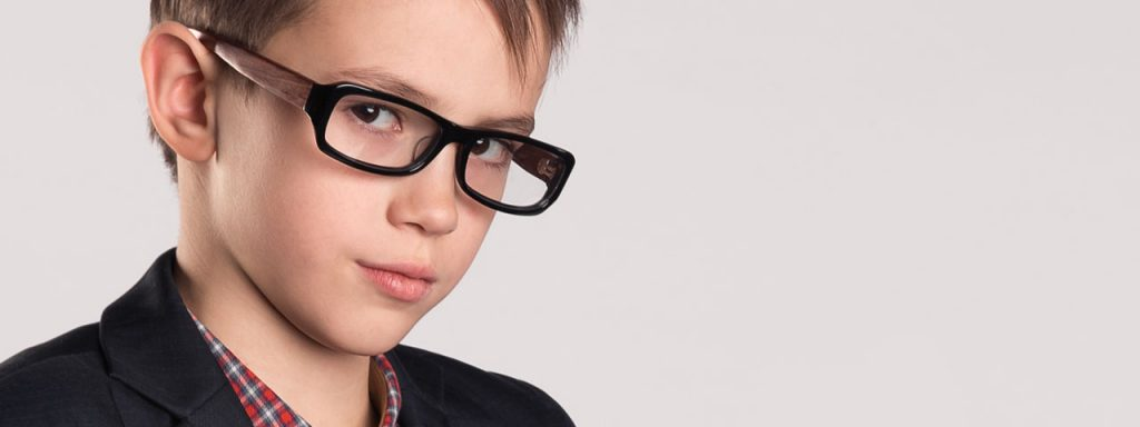 Child Wearing Glasses Lewic Center
